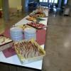 Platz für Buffet im Foyer UG